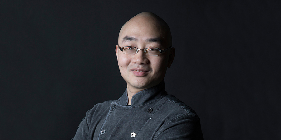 Portrait of executive chef Jason Mok