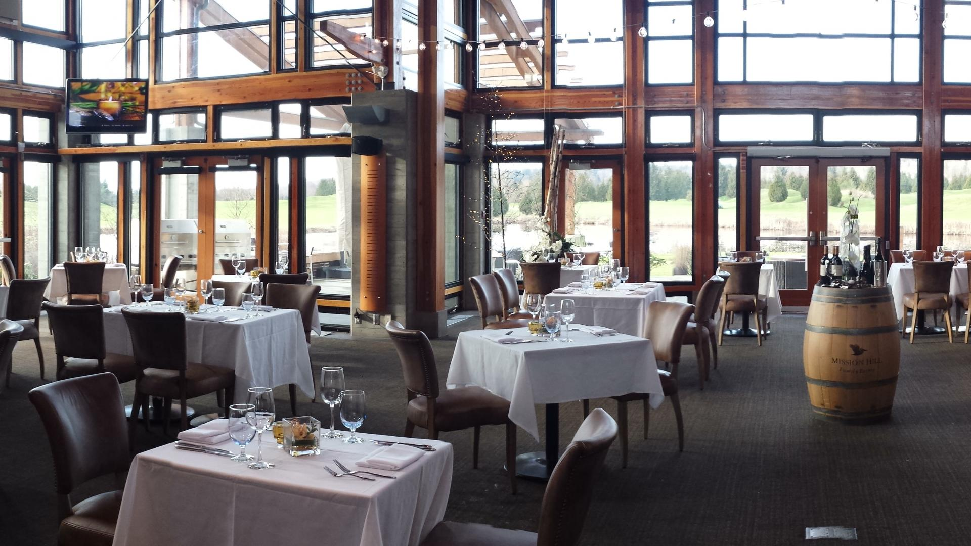Riverway Clubhouse Restaurant Dining Room