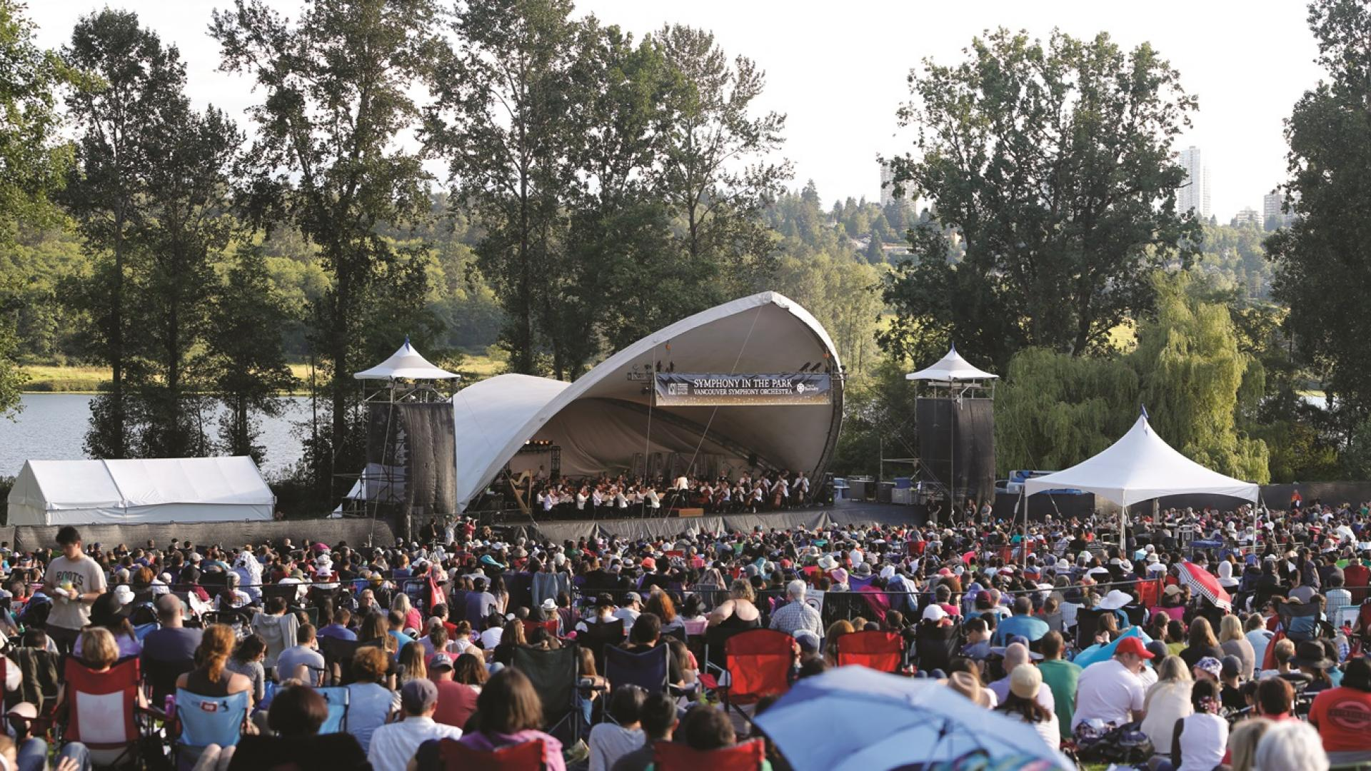 VSO concert at the Deer Lake Park