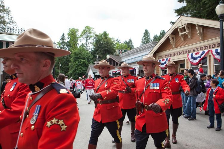 Canada Day Parade at the Burnaby Village Museum
